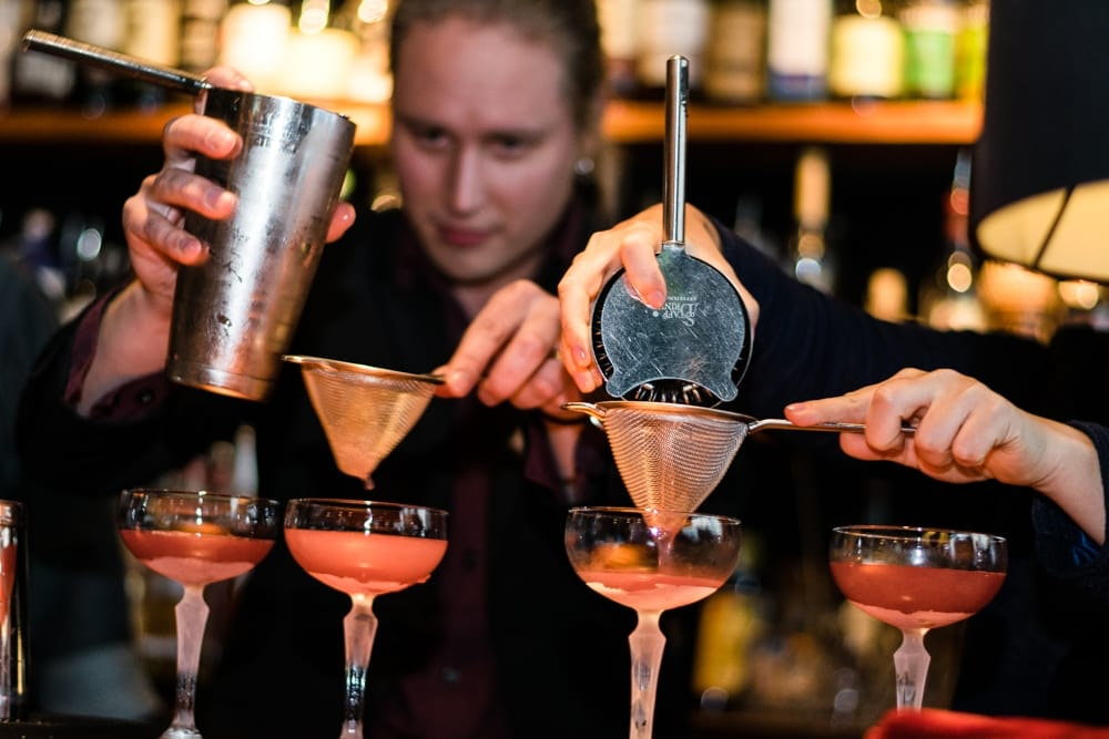A21 is well known for their world class cocktail schools
